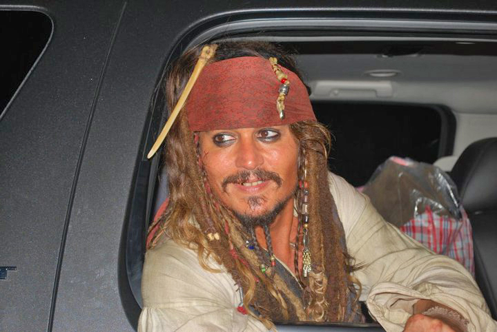 Depp as Jack Sparrow for OST